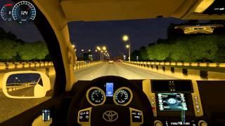 getlinkyoutube.com-City Car Driving 1.3.3 Toyota Land Cruiser Prado 150 HD G27
