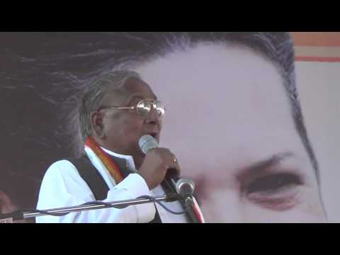 v hanumantha rao speech in gadwal