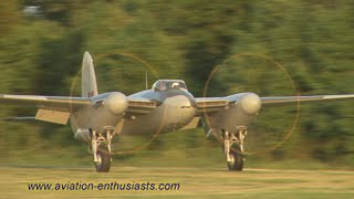 getlinkyoutube.com-2013 Flying Proms de Havilland DH.98 Mosquito flight