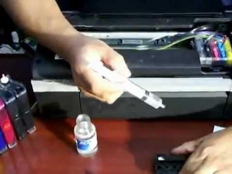 Liquido para la LIMPIEZA DE INYECTORES EPSON T50, T22, TX120. Disponible en  Venezuela