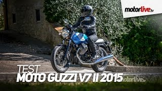 getlinkyoutube.com-TEST | MOTO GUZZI V7 II 2015 - Plus facile et plus sûre !