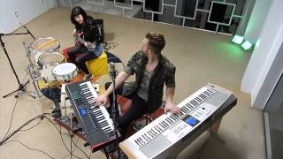 getlinkyoutube.com-Calvin Harris - Blame ft. John Newman - Cover Overdriver Duo