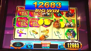 "getlinkyoutube.com-Big Wins & Bonuses on ""WINNING BID 2"" Slot Machine (Max Bet!)"