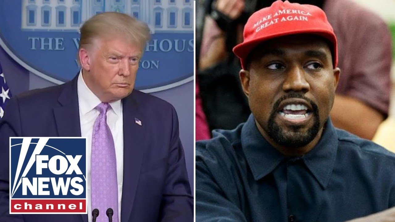 Trump Supports Kanye West's Campaign