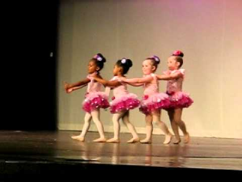 Pretty Ballerina Dance Recital
