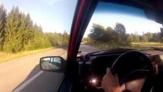 """593hp VOLVO 740 16v Turbo.  14"""" Tireslayer..."""