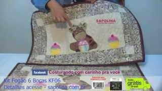 getlinkyoutube.com-Kit fogão 6 bocas KF06