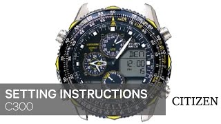 getlinkyoutube.com-CITIZEN C300 Setting Instruction