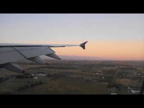 Singapore Airlines | SQ227 | Landing At Melbourne International Airport | A380