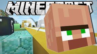getlinkyoutube.com-Minecraft | TRAYAURUS' GEOMETRY DASH!!