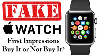 getlinkyoutube.com-Fake Apple Watch - First Impressions - Is this a legit Smartwatch?