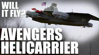 getlinkyoutube.com-Will it Fly? - Avengers Helicarrier | Flite Test