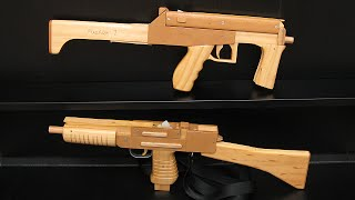 getlinkyoutube.com-[HD] Magazine fed rubber band SMGs