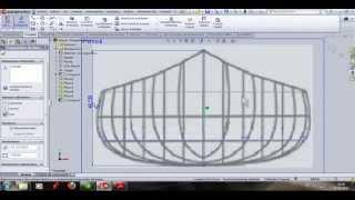 getlinkyoutube.com-tutorial de la construccion de una canoa en SolidWorks