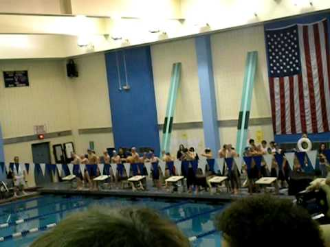 Pine Bush NY state record breaker 200 Medley Relay