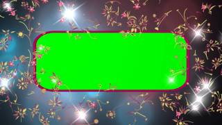getlinkyoutube.com-4K Floral Effect Animation Green Screen Royalty 100% Free Footage