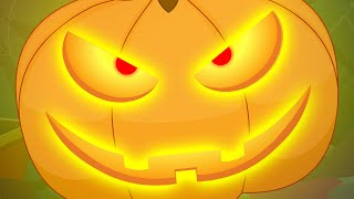 getlinkyoutube.com-There is scary Pumpkin | Scary Nursery Rhymes For Kids | Children's Song