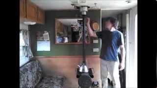 getlinkyoutube.com-RV woodstove cheap $200