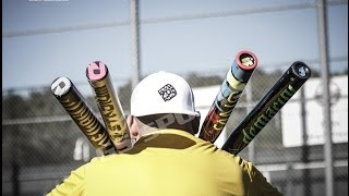 2014 demarini slowpitch bat demo session with gs sports - juggy asa, cl22, aftermath, one, mercy