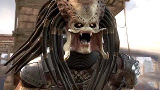 getlinkyoutube.com-Mortal Kombat X - All PREDATOR Fatalities X-Rays, Brutalities Intro And Outro