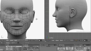 getlinkyoutube.com-Blender head modeling tutorial part 1