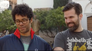 getlinkyoutube.com-Richard Ayoade & Rob Delaney Go Jogging in Seville - Travel Man S02E05