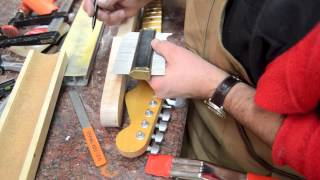 getlinkyoutube.com-Building a Strat Neck Luthier Build Process Part 1