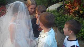 getlinkyoutube.com-lil kids wedding (cute!)