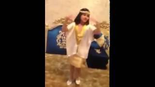 getlinkyoutube.com-بنت ترقص على شيلة رقص فن وحرفنه