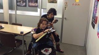 getlinkyoutube.com-仮面ライダー カイザ 913 草加雅人 村上幸平さん ジュウオウジャー 鳥男 バド ジュウオウバード ザリガニ