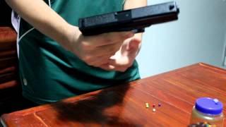 getlinkyoutube.com-Glock 17 pistol 6mm Df 350 reais Airsoft