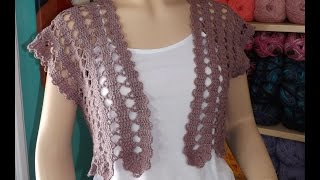 getlinkyoutube.com-Crochet summer cardigan part 1 of 2 - with Ruby Stedman