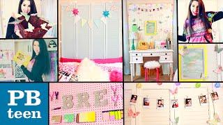 getlinkyoutube.com-DIY PB Teen Inspired Room Decor!   Easy & Cheap Dollar Store DIYS!   Spice Up Your Boring Room!