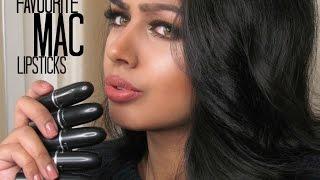 getlinkyoutube.com-Favourite MAC Lipsticks | Olive Skintone