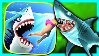 getlinkyoutube.com-HUNGRY SHARK WORLD - BULL SHARK - PART 8 (iPhone Gameplay Video)