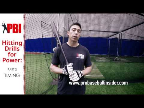 Hitting Drills for More Power - Part 2, Timing