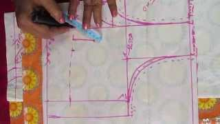 getlinkyoutube.com-How to measure body for blouse in telugu