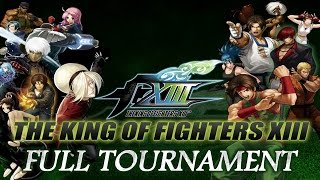 The King of Fighters XIII: TGS USA - Full Tournament! [TOP 8 + Finals] ザ・キング・オブ・ファイターズ