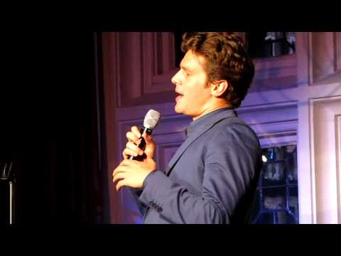 "Jonathan Groff Singing ""(Ain't That) Good News"" by Sam Cooke Live at The Cabaret"