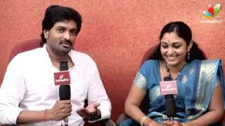 getlinkyoutube.com-Senthil and Sreeja : Fans got us to marry | Saravanan Meenakshi | Love Story