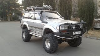 getlinkyoutube.com-Toyota Land Cruiser 80 Off-Road Car Tbilisi