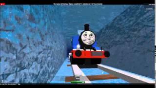 ROBLOX Thomas runs through another Magic Railway