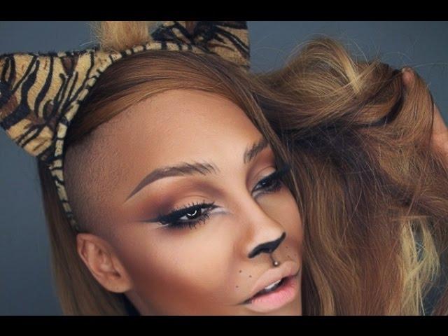 tiger makeup tutorial mugeek vidalondon