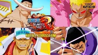 One Piece Unlimited World Red Colosseum Special: รวมทีเด็ด 4 ตัวโหด