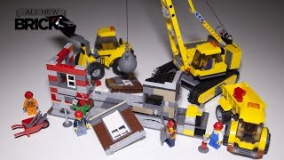 getlinkyoutube.com-Lego City 60076 Demolition Site Speed Build Review