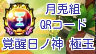 【月兎組】QRコード 覚醒日ノ神 極玉