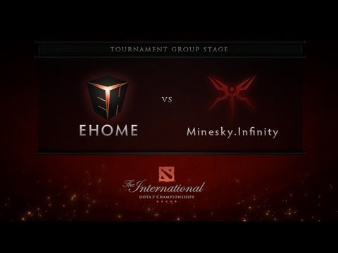 Dota 2 International - Group Stage - EHOME vs Minesky.Infinity