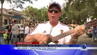 Programa sobre la consulta popular histórica de Venezolanos en Bonita Springs (Blocque C)