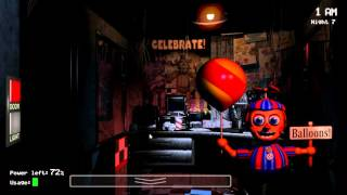 getlinkyoutube.com-Balloon Boy in FNaF 1