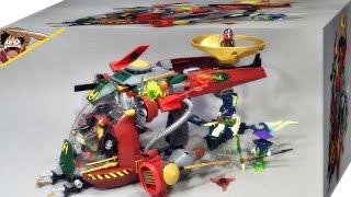 getlinkyoutube.com-레고 닌자고 로닌 REX 70735 에어짓주 전투기 조립 리뷰 Lego Ninjago shadow of Ronin R.E.X